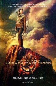 Il secondo volume della #trilogia di #SuzanneCollins - La ragazza di fuoco. #Hungergames