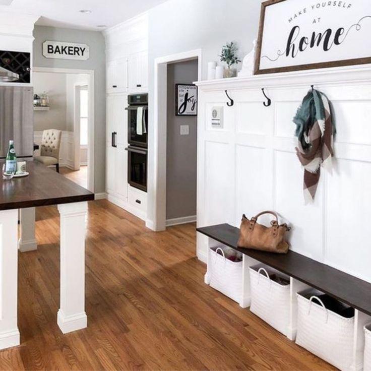Mudroom Ideas Diy Rustic Farmhouse Mudroom Decor Storage And Mud Room Designs We Love Clever Diy Ideas Simple Kitchen Design Mudroom Decor Home