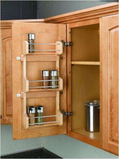 Die besten 25+ Cabinet door spice rack Ideen auf Pinterest - gewürzregale für küchenschränke