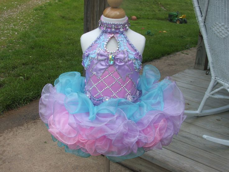 This is beautiful, I would change the neckline slightly though. It would probably bother my child