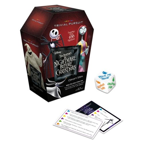 Trivial Pursuit The Nightmare Before Christmas Collector S Edition Game Usaopoly Board Game Nightmare Before Christmas Christmas Board Games Christmas Horror