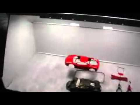 TheAutoModeler shows off his Artograph Spray Booth and project he is currently working on. youtube.com