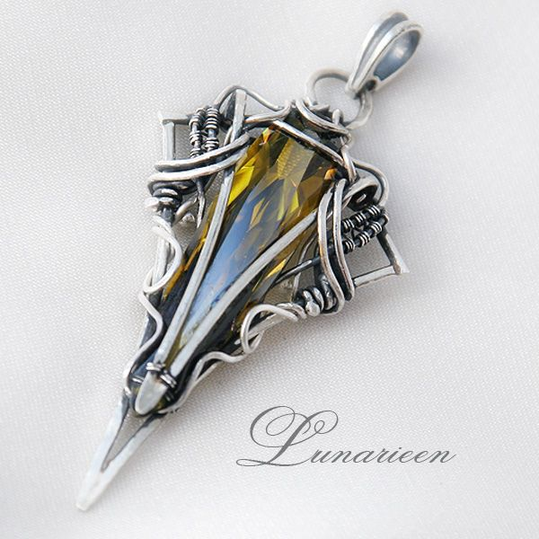 19 best lunarieen images on Pinterest | Wire jewelry, Wire wrapping ...