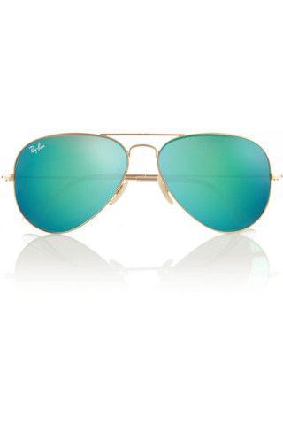 Ray-Ban|Aviator mirrored metal sunglasses|NET-A-PORTER.COM