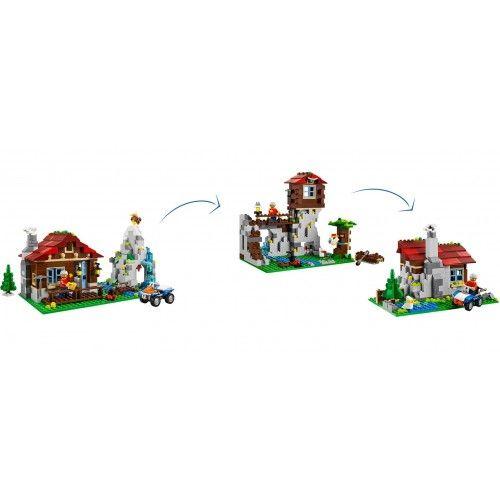 Tante avventure ti aspettano al #Rifugio 3-in-1 di #Lego! Lo trovi qui: http://www.bebeconfortsnc.it/it/play-set/497-lego-rifugio-31025.html