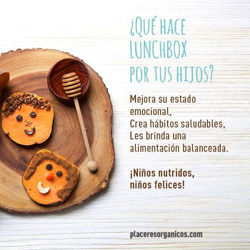 La salud y nutrición de nuestros niños es primero ¡Empieza a cambiar sus hábitos alimenticios desde ahora! www.placeresorganicos.com