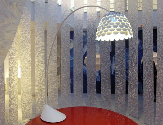 Beautiful Floor Lamp By Fontana Arte
