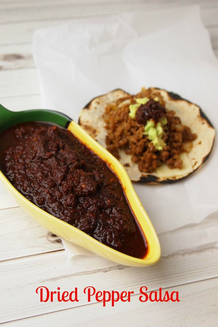 Dried Pepper Salsa Recipe - JoyOfKosher.comSalsa Recipe