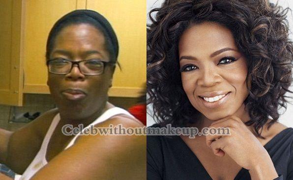 Oprah Winfrey 2013 No Makeup Oprah before an...