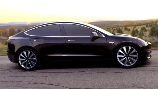 Tesla Modell 3 unveilled