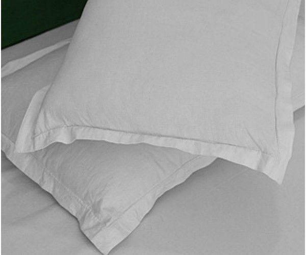 """Shop 42x46-T200 White King Pillow Case - Thomaston Thomaston Mills Hotel Supplies White Pillow Cases 42"""" x 46"""" White 4.0 lbs Online At Ramayan Supply.  42x46-T200 White King Pillow Case - Thomaston Thomaston Mills, White Pillow Cases, Hotel White Pillow Cases, Hotel supplies"""
