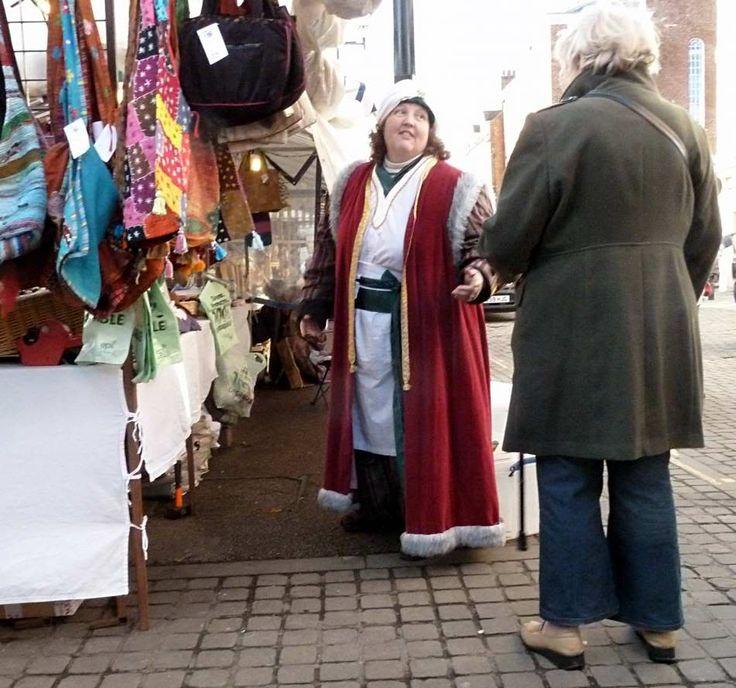 Ludlow Christmas Market, Banter
