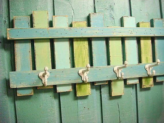 Clôture crochet porte manteau Rack plage maison par CastawaysHall