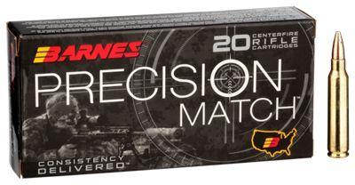 Barnes Precision Match Centerfire Rifle Ammo - 5.56mm x 45mm - 85 Grain #Ammunition #Ammo #CheapAmmo #CheapAmmunition