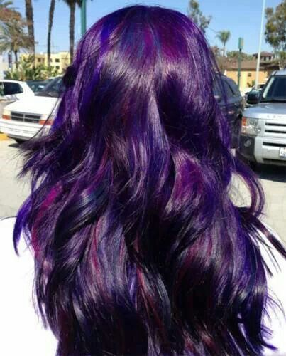 Purple Hair.. this is what color mine is supposed to be but it washes out FAR too fast.