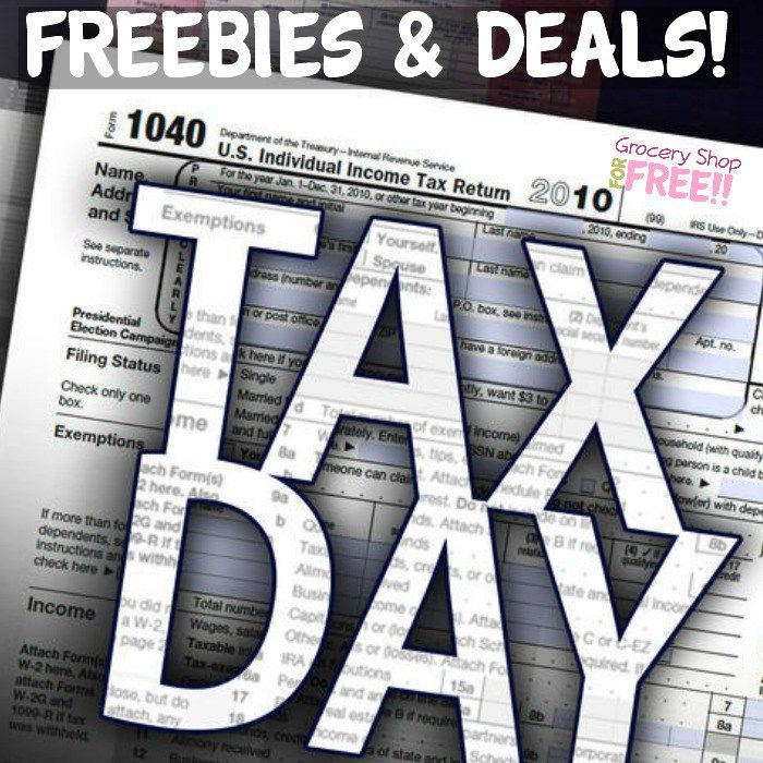 Tax Day & Beyond FREEbies & Deals 2017! (With images