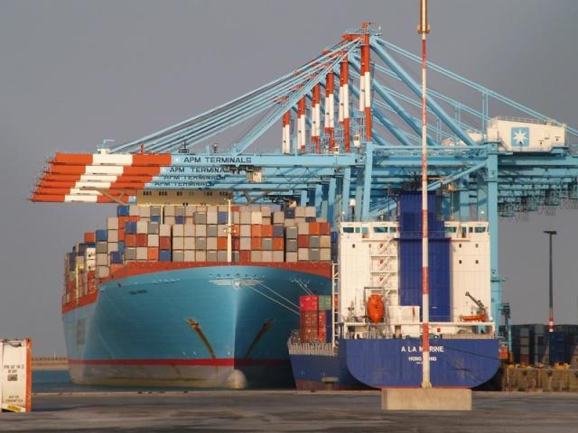 Container ship in Zeebrugge - © Port of Zeebrugge