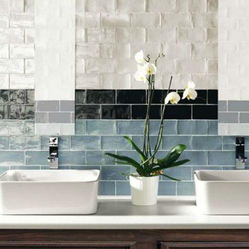 Inspírate e innova, el azulejo clásico de apariencia elegante busca renovar tus espacios con los mejores diseños. #Ceramica #PisosCeramica #CeramicaDecorada