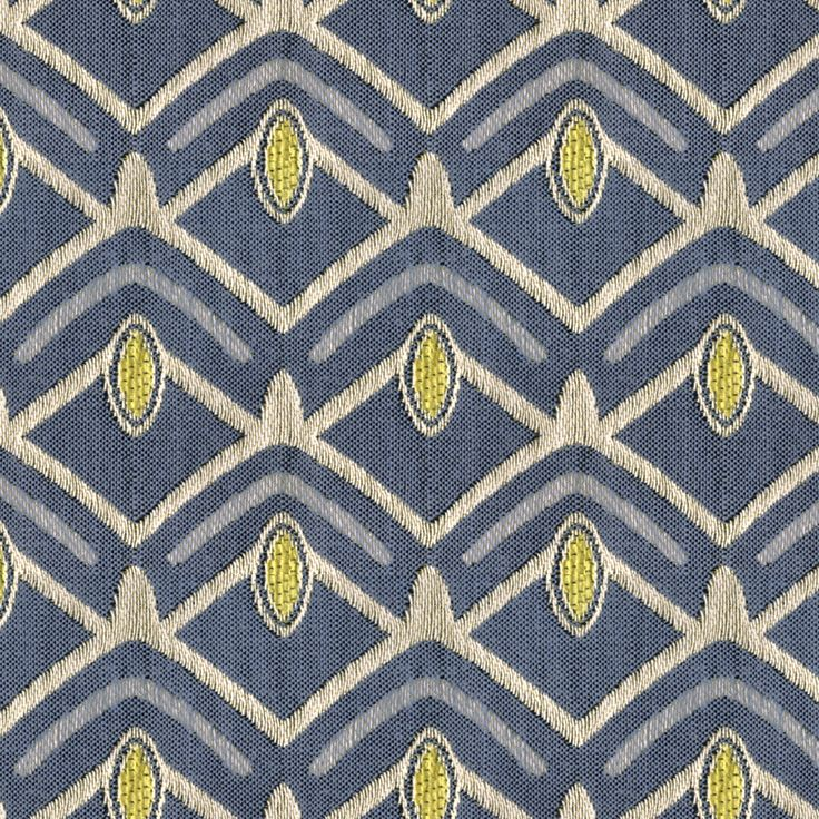 The AX263 Avion Jet upholstery fabric by KOVI Fabrics features Geometric pattern and Blue, Green, True Blue, Mint, Seafoam as its colors. It is a Woven, Chenile type of upholstery fabric and it is made of 36% Cotton 29% Rayon 23% Polyester 12% Polyester material. It is rated Exceeds 65,000 Double Rubs (Heavy Duty) which makes this upholstery fabric ideal for residential, commercial and hospitality upholstery projects. Call 800-860-3105