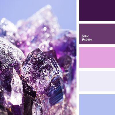 amethyst color, blue-gray, color of eggplant, color of violet orchids, color palette for a winter wedding, colors for a wedding decor, dark blue-violet, dark lilac, dark purple, gentle blue, gentle pastel tones, gentle purple, icy blue, lilac, pale pink, pink-lilac, purple.