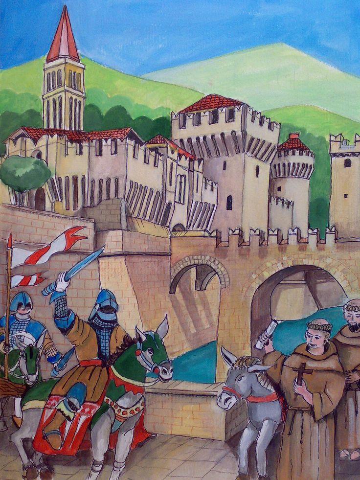 Antonio affronta il feroce tiranno Ezzelino da Romano e chiede la liberazione dei prigionieri