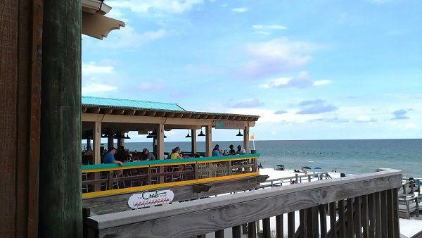 The Crab Trap Beach Front Dining Okaloosa Island Fl