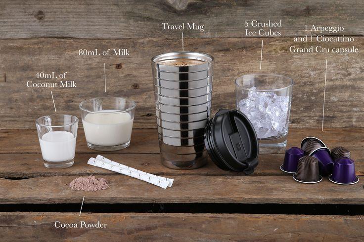 Chocolate Coconut Iced Coffee Designed For The New Nespresso Travel Mug Http J Mp 1bfg46e