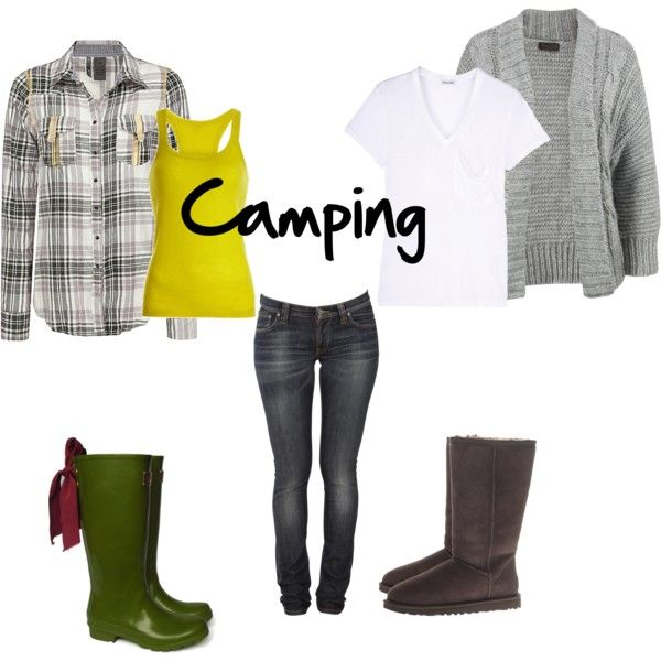 "If you need ""camping outfits"" you may not like camping... but this combo is still cute!"