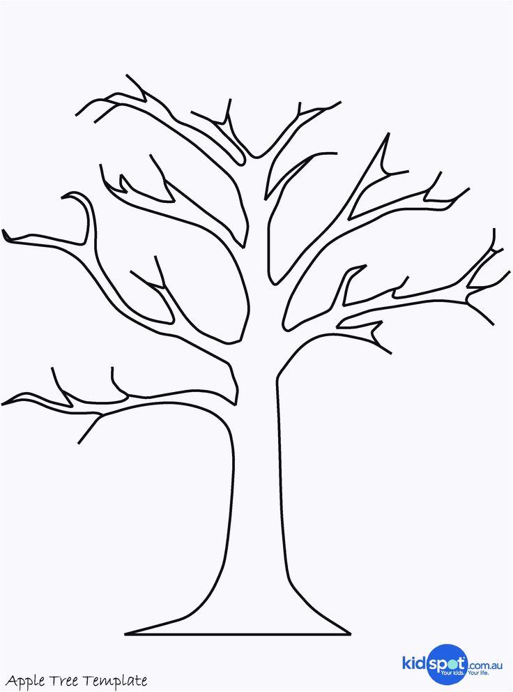 Bastelvorlage Baum Neu Schà N Baum Basteln Vorlag…