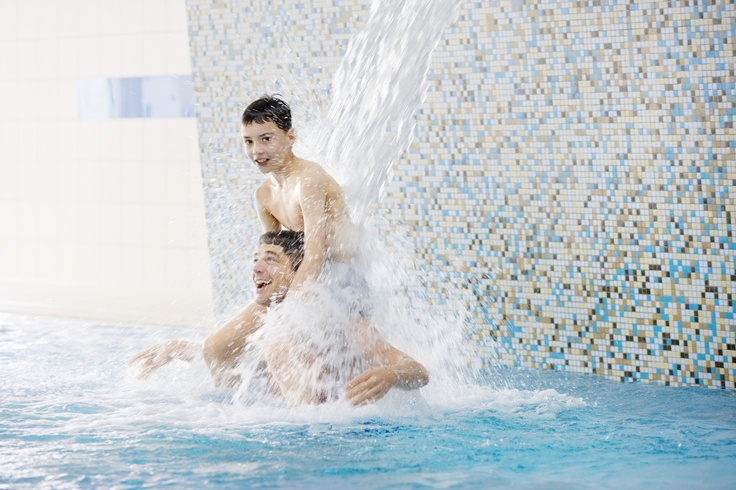 Der DORFHOTEL Spa ist für Wasserratten genau das Richtige.