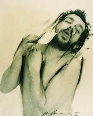 Arnulf Rainer - o.T., 1972, Fotoübermalung | KunstNET Österreich - Galerie am Stein