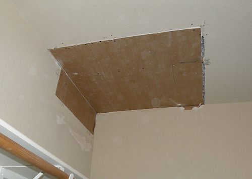 Diy How To Hang And Patch Sheet Rock And Dry Wall
