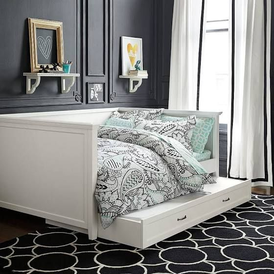 full size daybed with storage