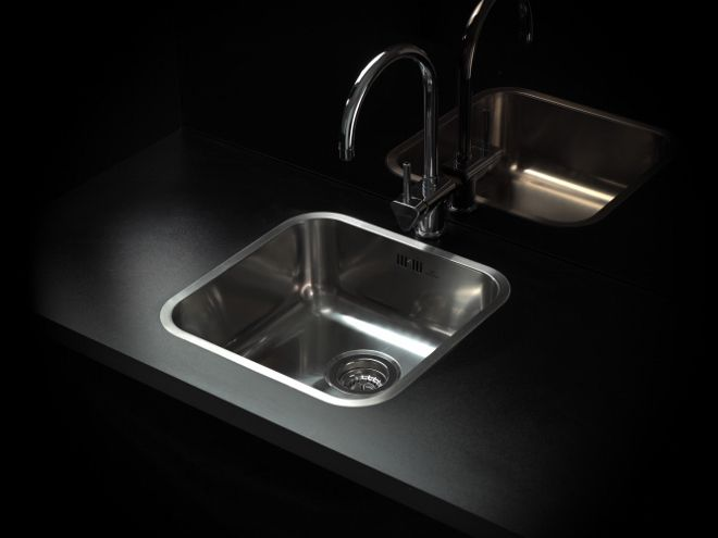 Spoelbak keuken RVS - Reginox IB serie - keuken ideeën #spoelbak