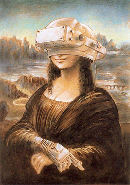 0325 Mathias Waske - Virtuelle Realität - Mona Lisa