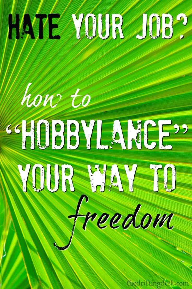 What do you do when you find yourself on a career path you don't enjoy? Maybe it's time to start freelancing on the side while keeping your day job. (It's easier than you think!) Want to learn more about how to Hobbylance?