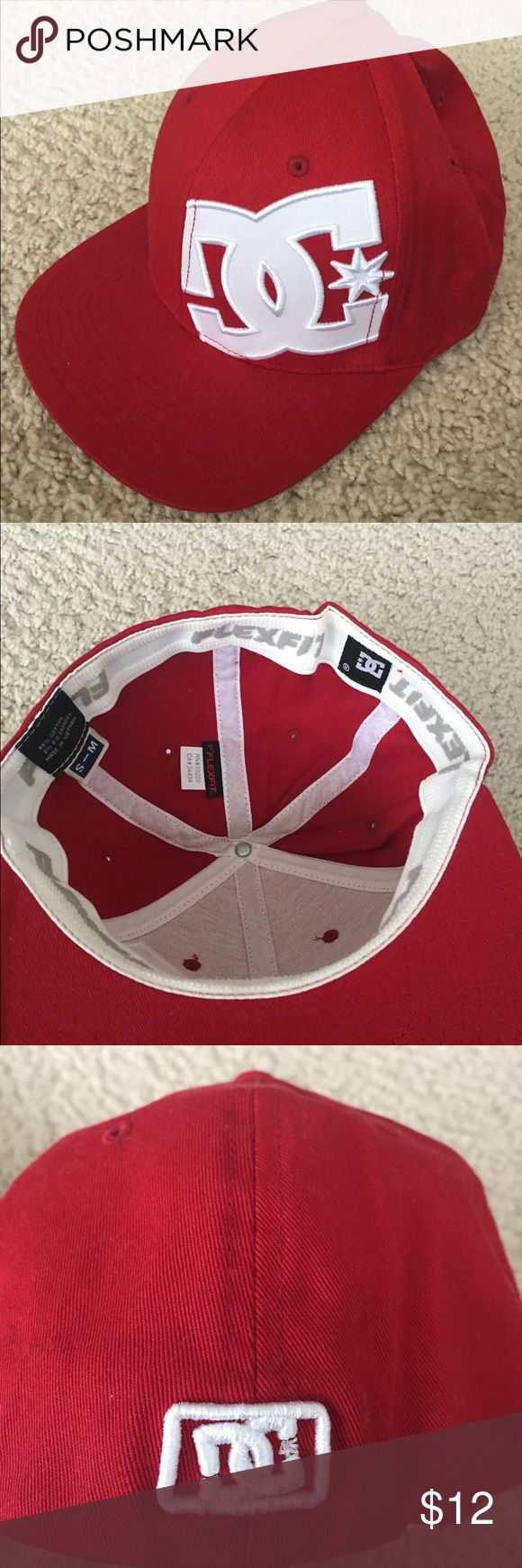DC Skateboard Hat Worn 2 times. No stains or rips. Still in Great Condition DC Accessories Hats