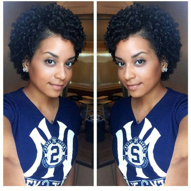 Cute Curls! http://www.shorthaircutsforblackwomen.com/short-hairstyles-for-black-women/ natural-hairstyles/cute-curls #naturalhairstyles