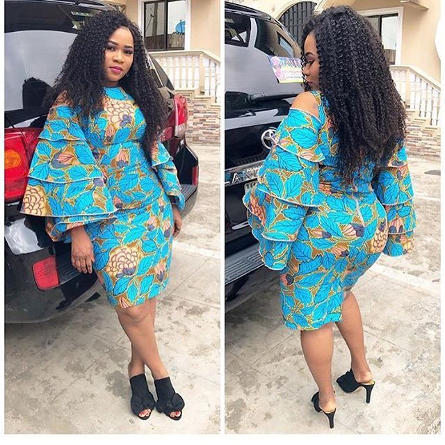 Here is modern ankara styles for ladies to have a change of look, this collection have the latest styles that will be the best for your kind of person.
