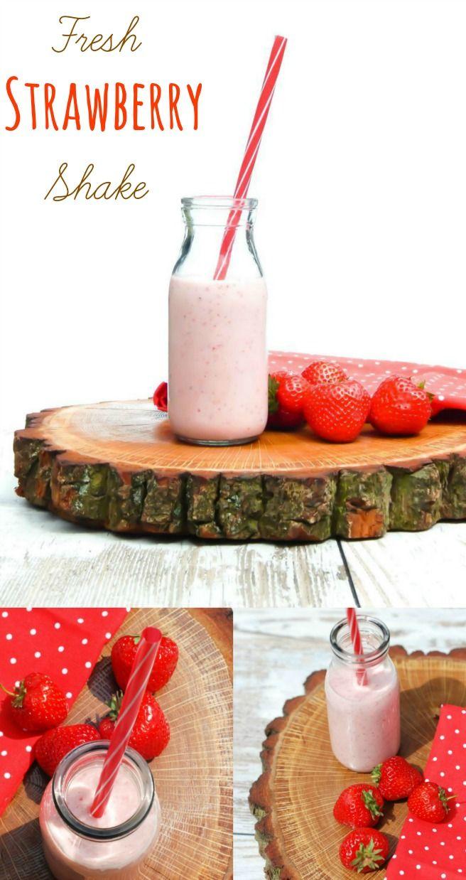 Fresh Strawberry Shake