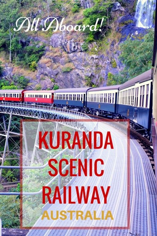 Guide and tips to riding the Kuranda Scenic Railway with kids in Queensland, Australia with kids | Cairns with kids