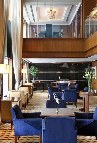 The Hongta Hotel, Shanghai—Executive Lounge with Meeting Room