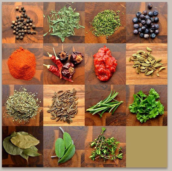 Try the spice matrix!