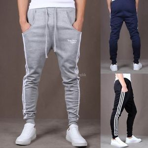 Mens Low Drop Crotch Casual Sport Hip Hop Harem Pants Sweatpants Trousers