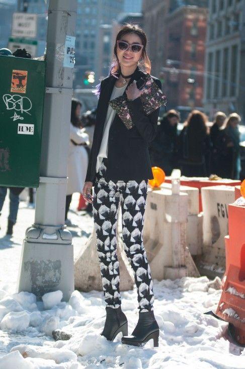 ModMods - NYFW A/W '14 Street Style - Day 6 - Irene Kim