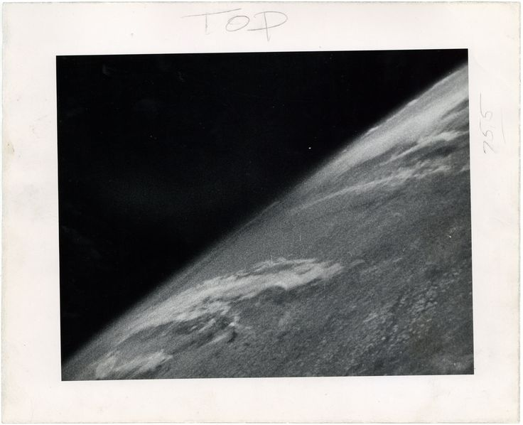 First Photo From Space - 1946 - Rarely Seen Images From Space Including the 'Best Selfie Ever' - NYTimes.com