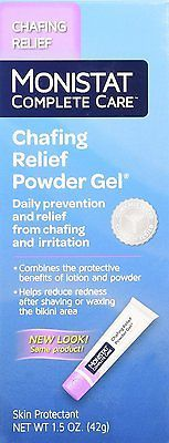 1.5oz Tube Monistat Soothing Care Chafing Relief Powder-Gel Fragrance Free