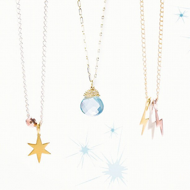celestial necklaces #givedogeared