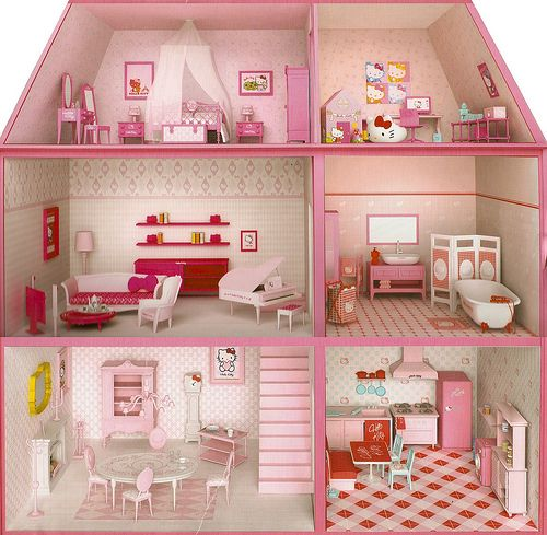 Hello Kitty Dollhouse and like OMG! get some yourself some pawtastic  adorable cat apparel!