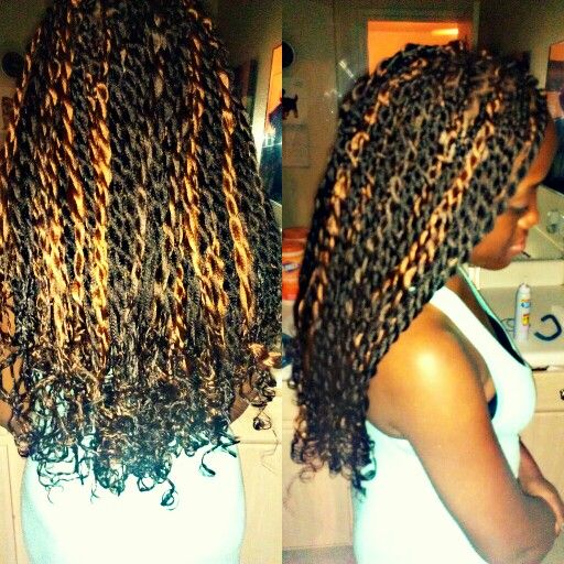 Nice colour combination for senagalese twists | Natural